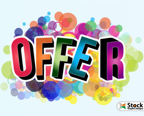 Offer Vector Poster by Stockgraphicdesigns ...