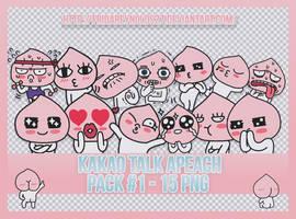 Pack #1 PNG   Kakao Talk Apeach by FridaReynolds27