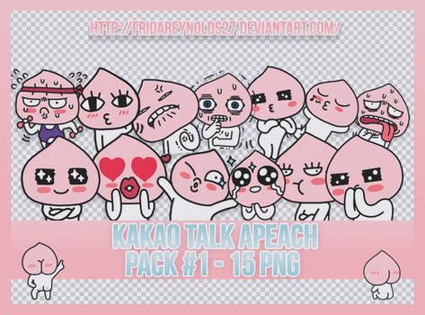 Pack #1 PNG | Kakao Talk Apeach