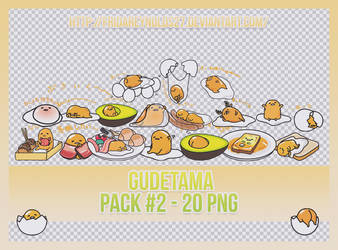 PACK #2 PNG | Gudetama by FridaReynolds27