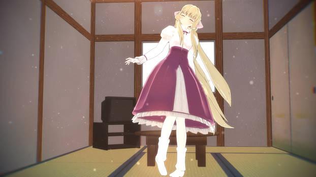 [MMD NEWCOMER] Chobits Chii - Pink Dress [D/L]