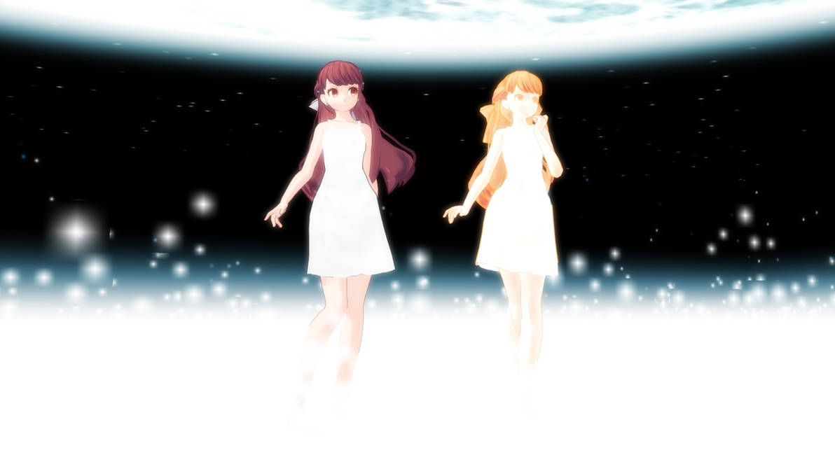 MMD] SHELTER-Rin- Memory Dress + Glow Ver  1 0 DL by MoondreamofA on