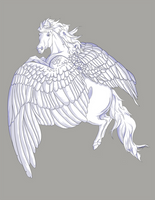 Aloft Pegasus Freebie by Blusl