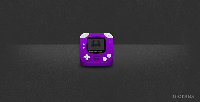 GBA iOS Icon by CodeNamePlayer