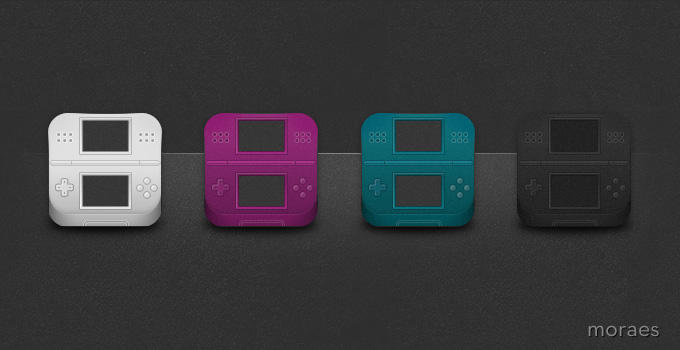 Nintendo DS iOS Icons by CodeNamePlayer