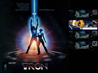 Tron LogonUI by xoxiro