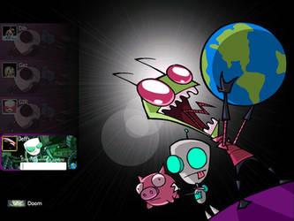 Invader ZIM by xoxiro