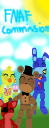 FNAF COMMISIONS by MimiKawaiiLove