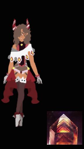 red phantom ghost quartz by MimiKawaiiLove