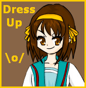 Haruhi Suzumiya Dress Up by gateux