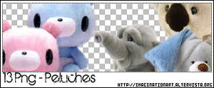Peluches Png set11
