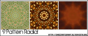 Pattern set 9 - Radial Effect