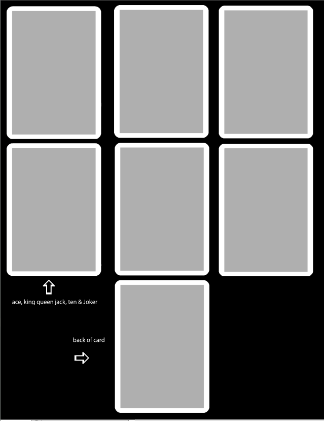 playing card template free by thevodkaboy on deviantart. Black Bedroom Furniture Sets. Home Design Ideas