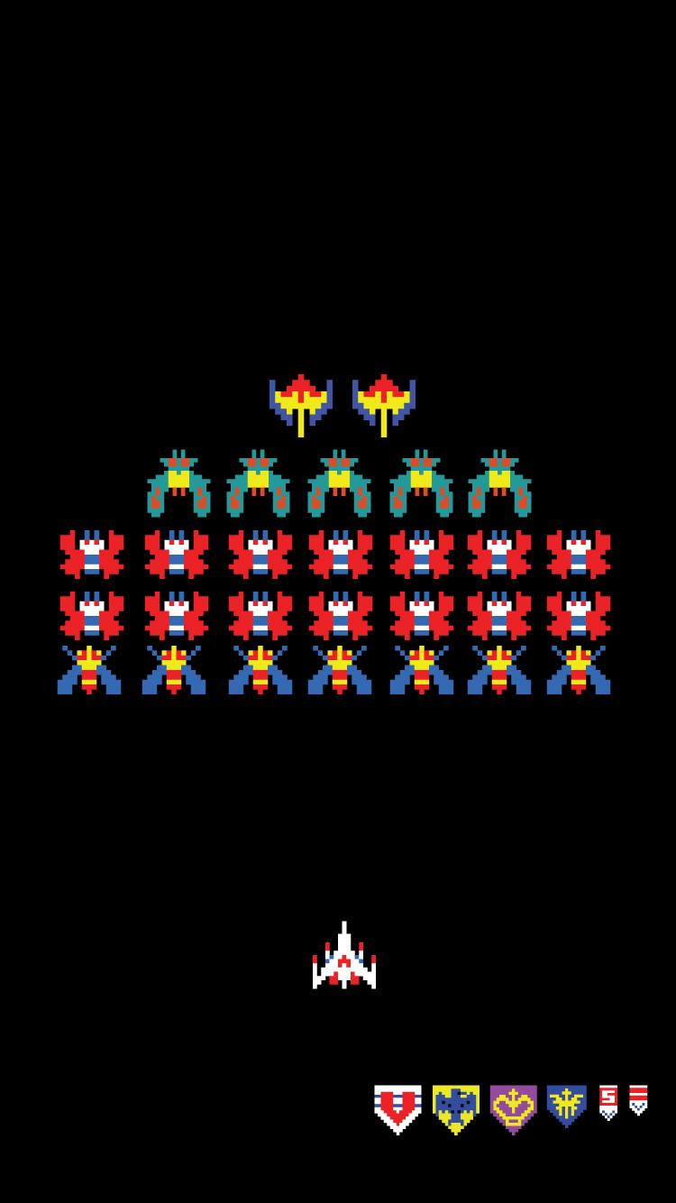 Galaga Sprites