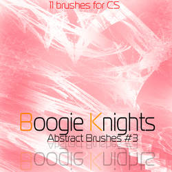 BKO ABSTRACT SET NUMBER 3 by Boogie-Knights