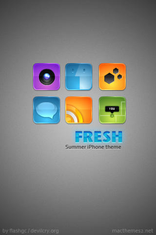 iPhone FRESH GLOSSY by devi-cry