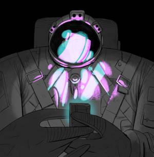 Astronaut Gameboy Gif