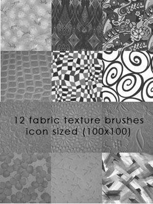 Fabric Texture Brushes 1 by candymgunn