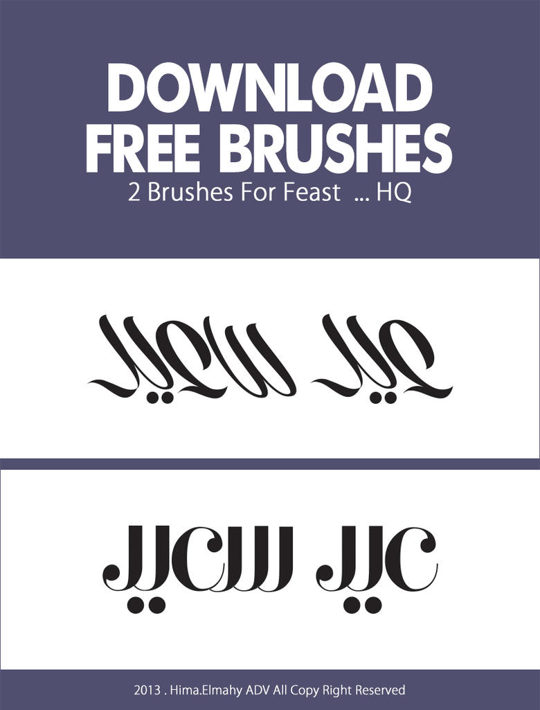 Feast Brushes by jooyousef