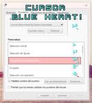 Cursor Blue Heart