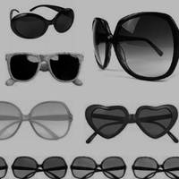 Sunglasses Brushes by radroachmeat