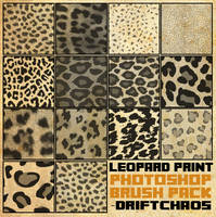 Leopard Print Brush Pack [2013]