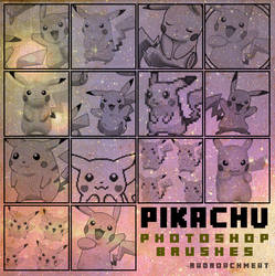 Pikachu Brush Set [2016]