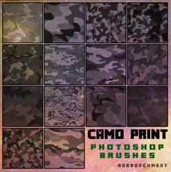 Camo Print Brushes [2016]