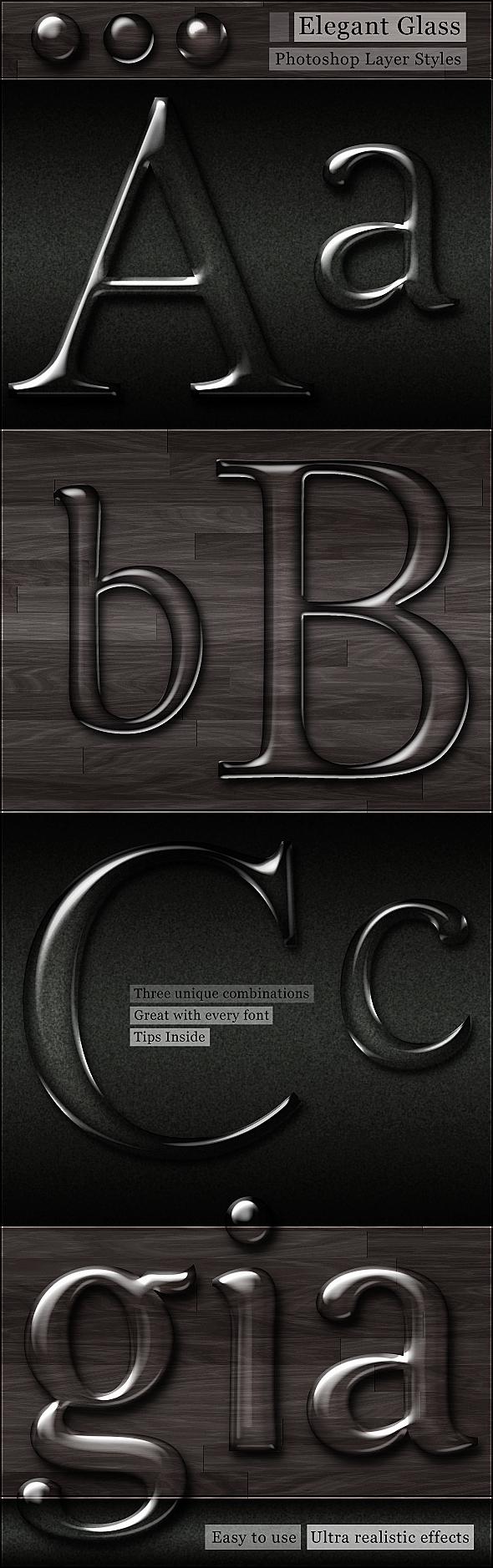 Free Glass Photoshop Styles by Giallo86 on DeviantArt