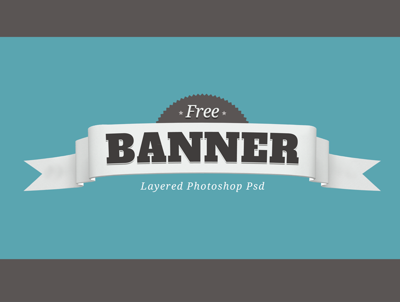 free layered psd banner badge by giallo86 on deviantart. Black Bedroom Furniture Sets. Home Design Ideas