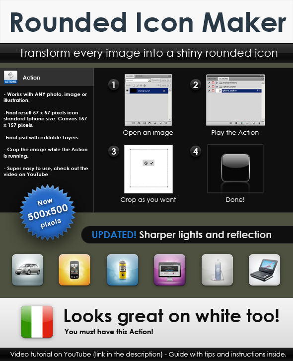 FREE Rounded Icon Maker by Giallo86