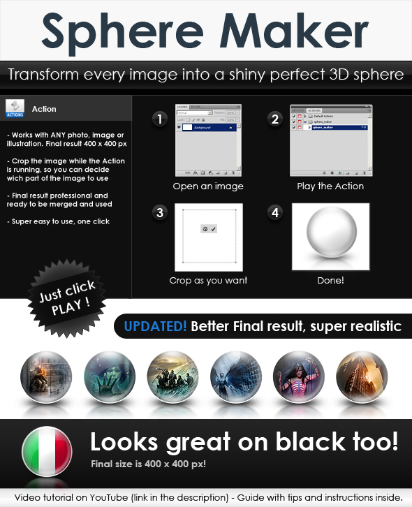 Free Sphere maker V1 by Giallo86
