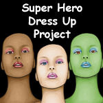 Super Hero Dress Up Project by LineBirgitte