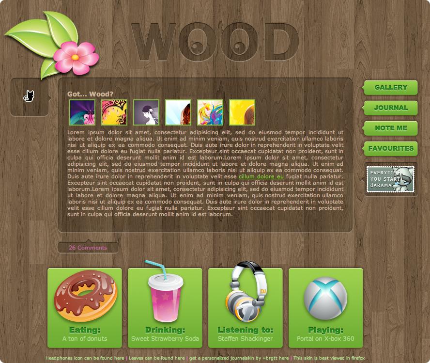 Got... wood? by LineBirgitte