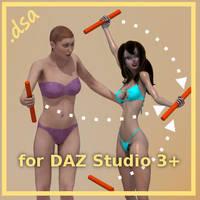3DC030r3 DAZ Studio Smart+ Props by 3dcheapskate