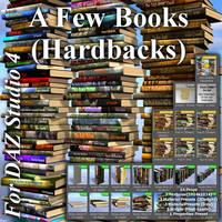 A Few Books (Hardbacks) For DAZ Studio 4