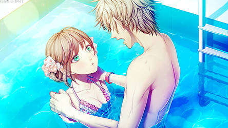 CG Art Pack: Amnesia Memories: Kent's Route by bakaprincess85