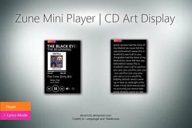 Zune Mini Player by DevArt101