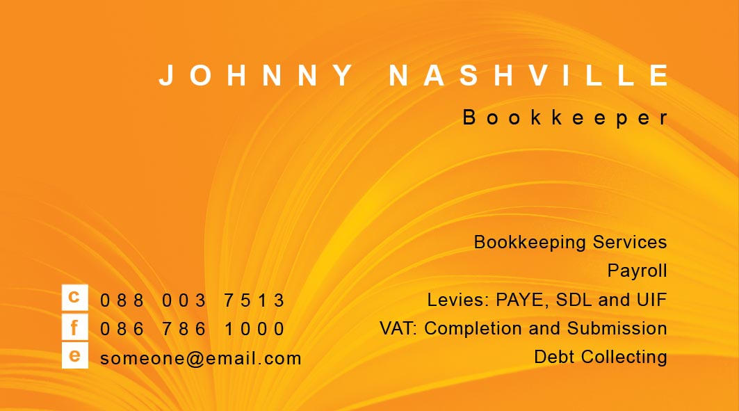 Org Bookkeeper Business Card by nighthawk101stock on DeviantArt