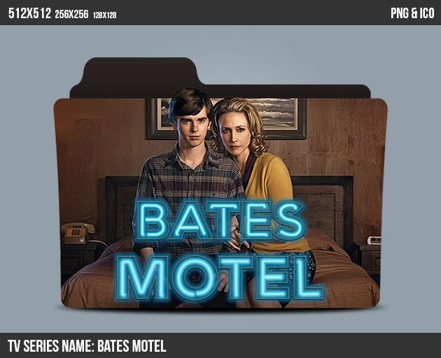 Bates Motel Folder ICON by kasbandi