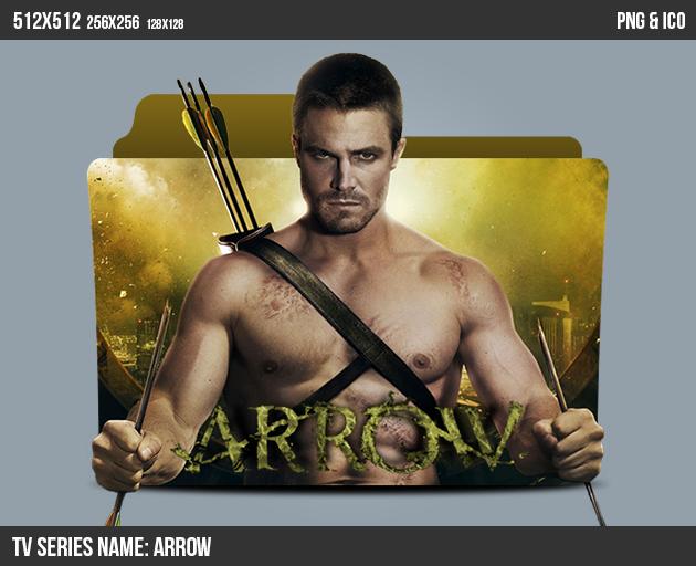 Arrow Folder ICON by kasbandi