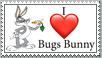I love Bugs Bunny Stamp