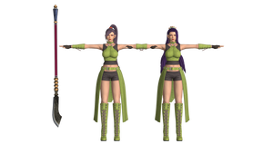 Luong as Jade Dragon Quest (DL)