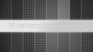16 patterns for photoshop