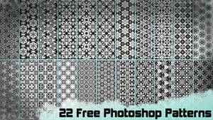 22 Free Photoshop Patterns by Gamekiller48