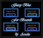 Glassy Blue Beatnik