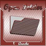 Stripes 'Open Folder'