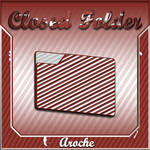 Stripes 'Closed Folder'