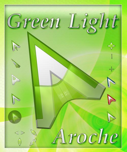 Green Light -Blue Version- Cursors