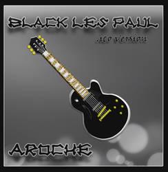 Black Les Paul ico